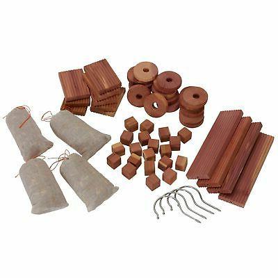 Cedar Closet Value Pack, 56 Piece Set N/A