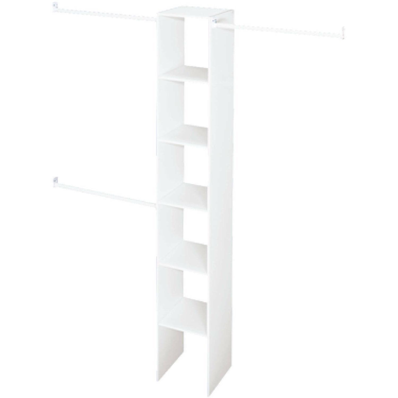 Closetmaid Vertical Closet Organizer 12 Inch White 3 Expanda