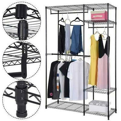 closet organizer shelves system kit shelf rack