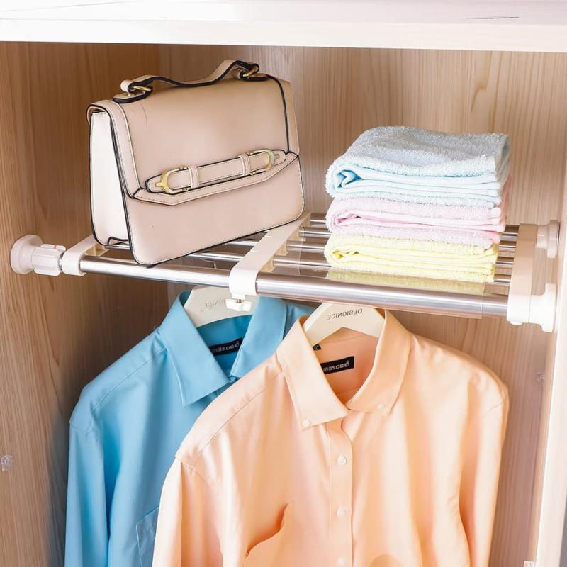Hershii Closet Rack Adjustable Orga