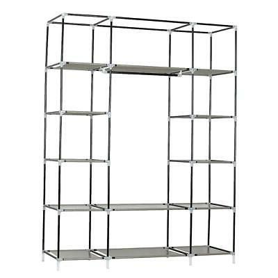 Closet Clothes Rack Ample Shelves