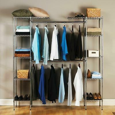 custom closet organizer shelves system kit expandable