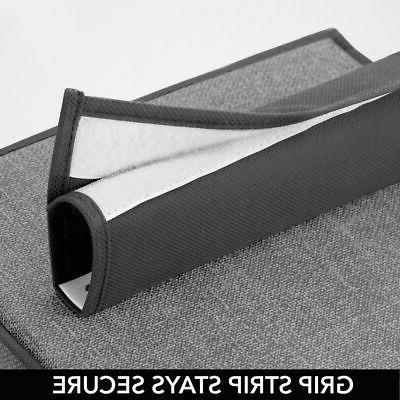 mDesign Rod Organizer, Shelves, Dark Gray