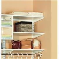 Organized Living freedomRail Wood Shelf, 48-inch x 14-inch -