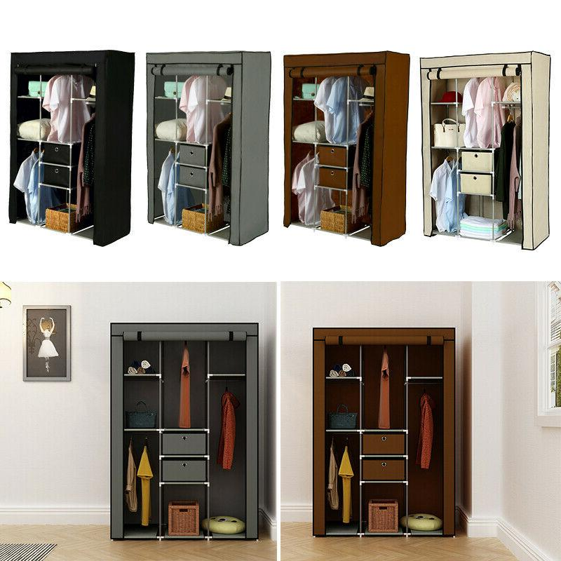 Heavy Duty Closet Storage Wardrobe