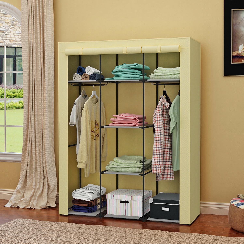 Heavy Portable Wardrobe Shelves