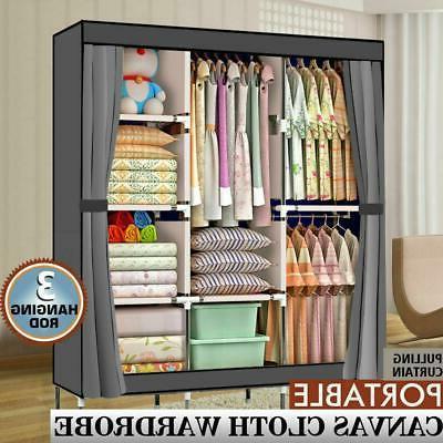 high quality 71 portable clothes closet wardrobe