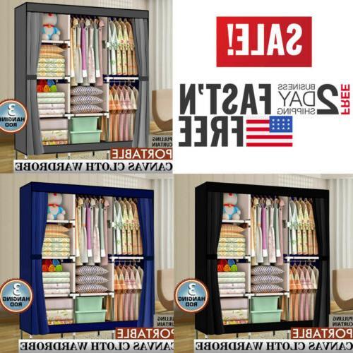 High Quality Wardrobe Organizer w/Shelf