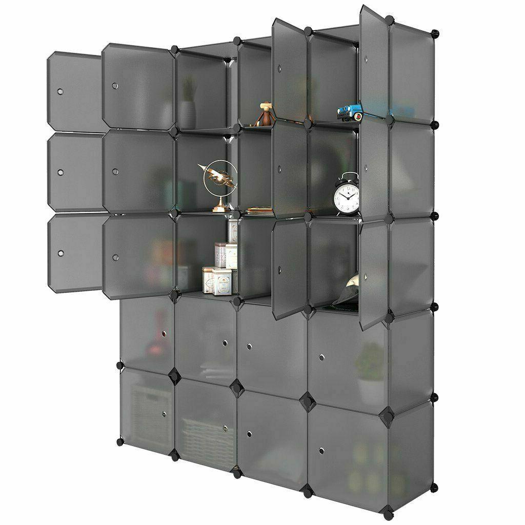 Home 20-Cube Closet Storage Shoes Shelf