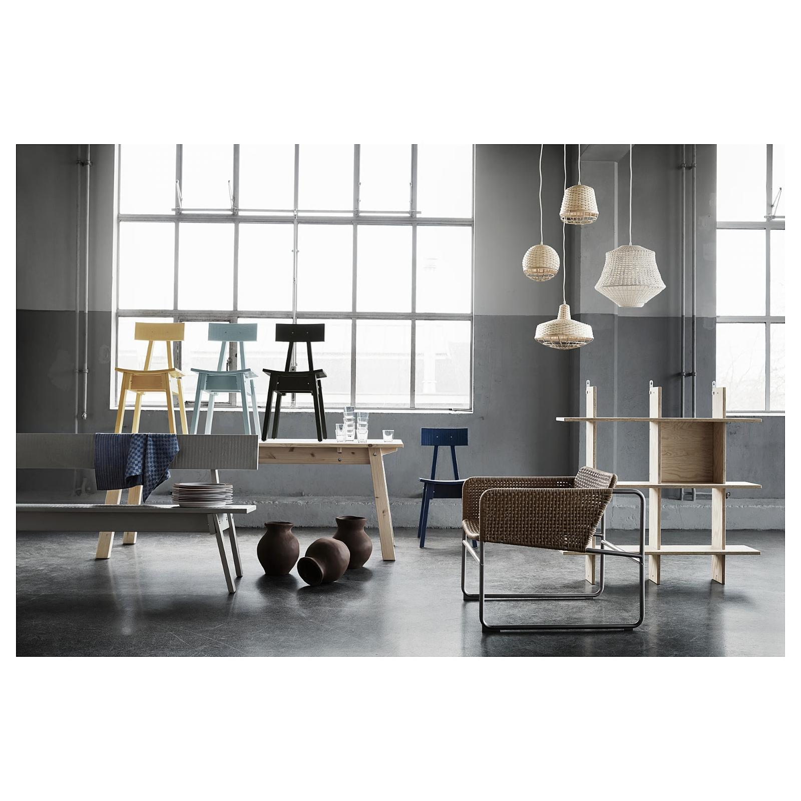 Ikea Pendant Lamp Bamboo NEW