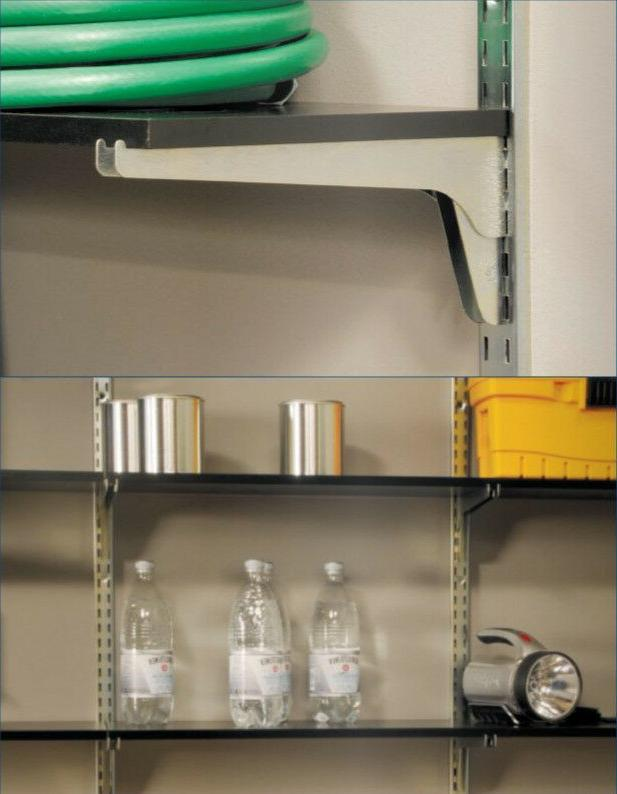 "Knape Extra-Duty Steel Shelf Bracket KV 185 16"""