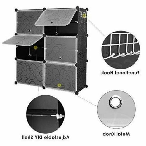 Multi-Cube Storage Closet