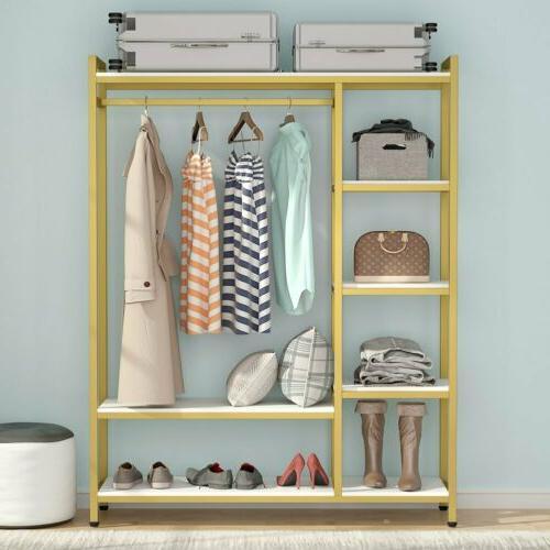 Portable Organizer Storage Clothes 6-tier Shelf