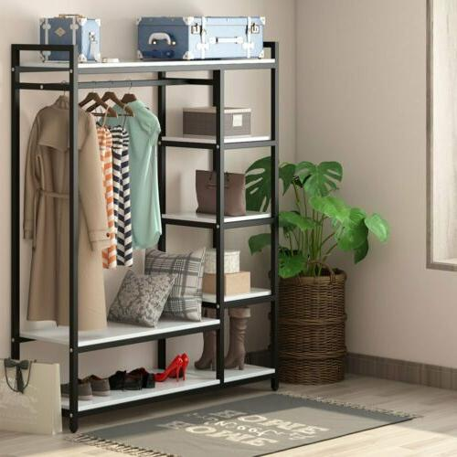 portable closet organizer storage clothes hanger garment