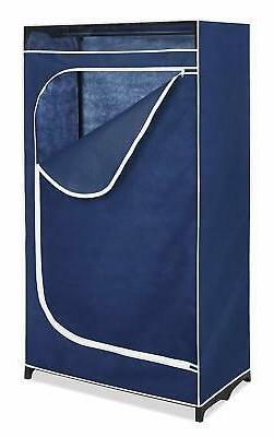 Portable Closet Storage Organizer Clothes Wardrobe Garment F