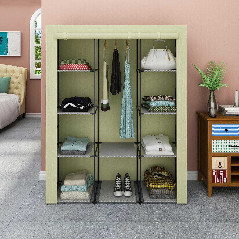 Heavy Storage Clothes Wardrobe Rack