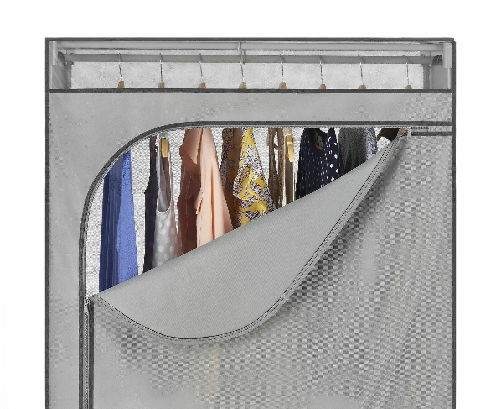 Whitmor Portable Wardrobe Closet Storage Hanging Rack