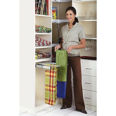 Rev-A-Shelf Closet Pants Rack for 13 Chrome