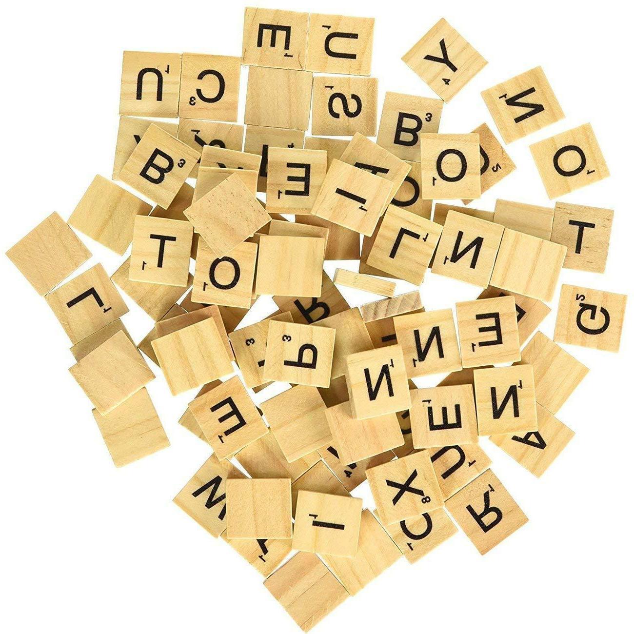 SCRABBLE Pieces Sets Wooden Replacement