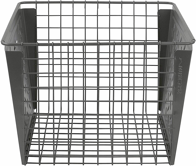 Spectrum Diversified Macklin, Steel Wire Basket for Closet