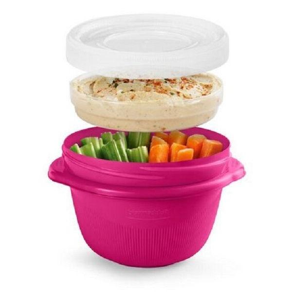 Rubbermaid On-the-Go 2 Cup Food Container Pink