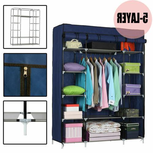 Upgraded Closet Rack