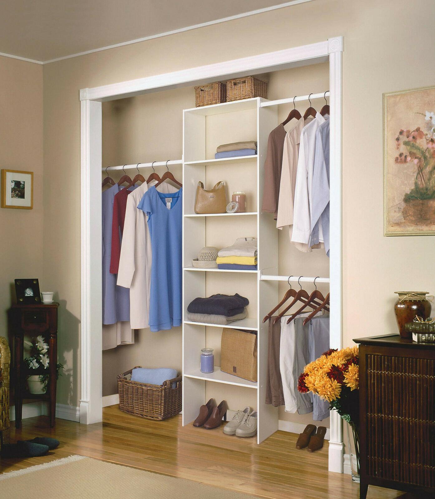 vertical closet
