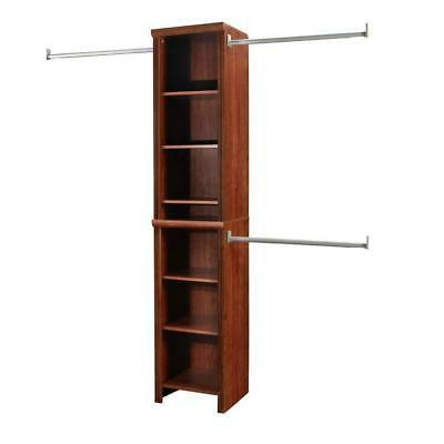 ClosetMaid Wood Closet System 48 in. W - 108 in. W Adjustabl