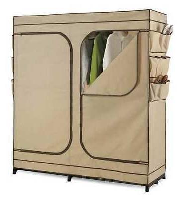 HONEY-CAN-DO WRD-01272 Storage Closet w/Shoe Organizer
