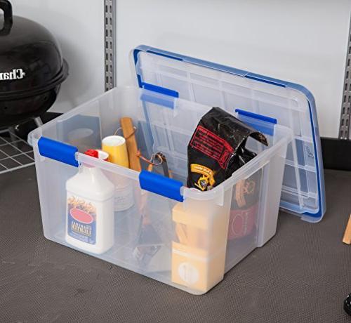 IRIS WeatherShield Box, Quart, Clear,