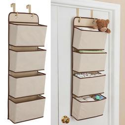Mesh Over Door Storage Organizer Hanging Closet Shelf Bag Sh