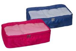 Home Basics NEW Foldable Large Travel Bag Accessory Organize