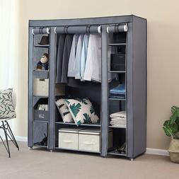 NEW Portable Closet Wardrobe Storage Organizer Clothes Shoe
