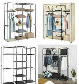 Portable Hanging Clothes Sundries Rack Closet Storage Organi