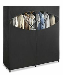 Whitmor Portable Wardrobe Clothes Storage Organizer Closet w