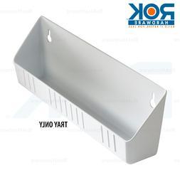 "Rev-A-Shelf 14"" Standard Tip Out Tray, White RV6581-14WH"