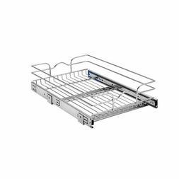 Rev-A-Shelf 14.5-in W x 22-in D x 6-in H 1-Tier Metal Pull O