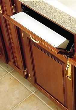 Rev-A-Shelf 2 Piece 6581 Sink Front Tray, Standard, White