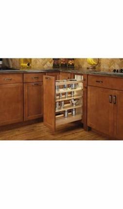 "Rev-A-Shelf 448-BCSC-8C 8"" Base Cabinet Pull Out Shelves wit"