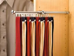 Rev-A-Shelf CTR-12 Pullout Closet Tie/Scarf Organizer