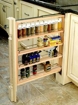 Rev-A-Shelf Kitchen Base Cabinet Storage Filler, Specify Wid