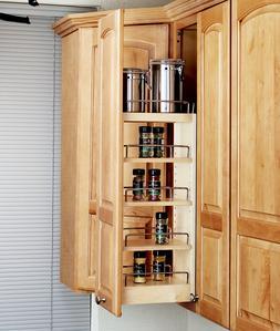 Rev-A-Shelf Kitchen Wall Cabinet Pullout Organizer & Spice R