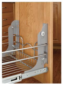 Rev A Shelf Pull Out Door MOUNTING KIT Cabinet Door Waste Ga