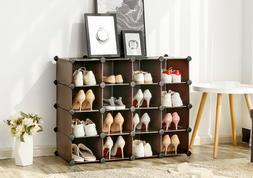 Stackable Shoe Rack Storage Organizer Hall Entryway Bedroom
