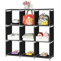 Storage 6/9 Grids Organizer Closet Space Saving Clothes Cube