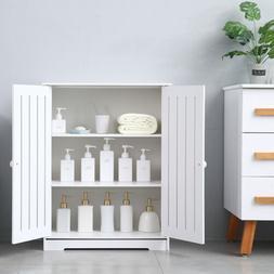 Storage Cabinet Double Door Shelf Bookcase Pantry Cupboard C