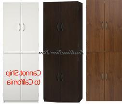 Tall Storage Cabinet Kitchen Pantry Cupboard Organizer Furni