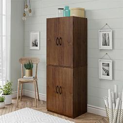 Tall Storage Pantry Kitchen Cabinet Organizer Utility Cupboa