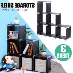 USA Storage 6Cube Organizer Bookcase Display Book Shelves Cl