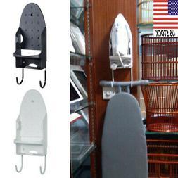 Wall Mount Iron Ironing Board Hanging Holder Hook Laundry Ac